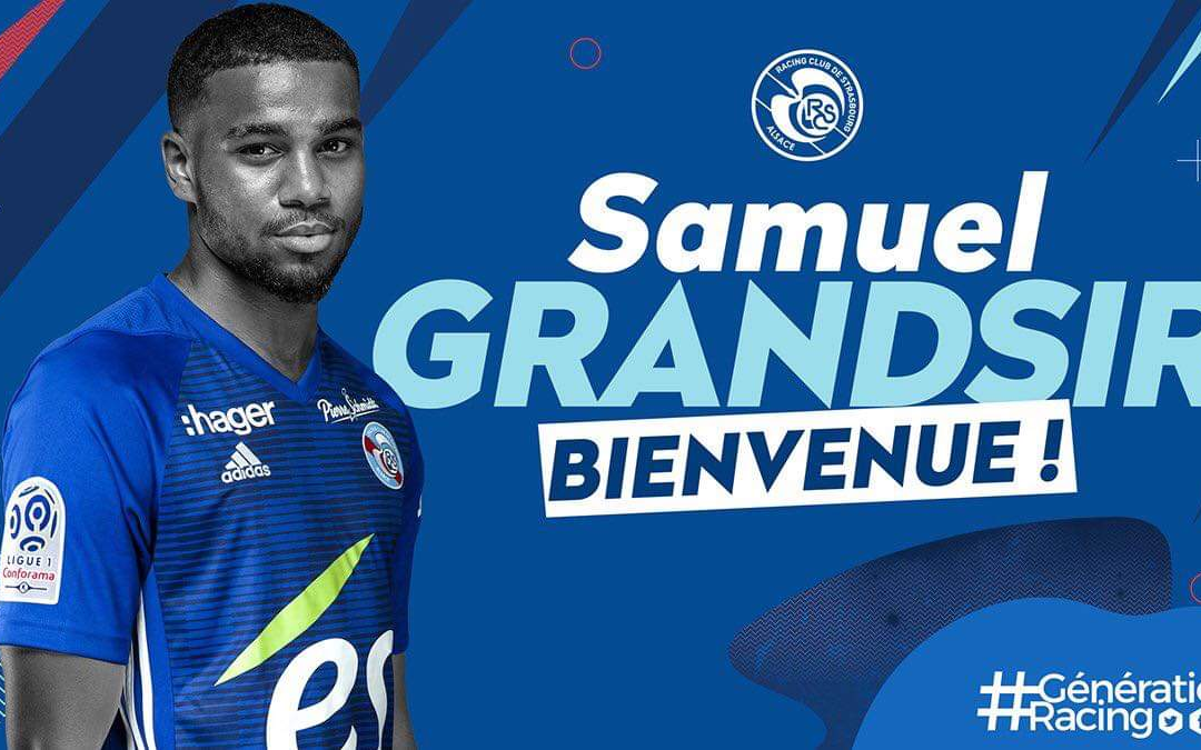 SAMUEL GRANDSIR PRÊTÉ AU RC STRASBOURG!