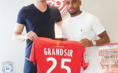 SAMUEL GRANDSIR PRÊTÉ AU STADE BRESTOIS 29!