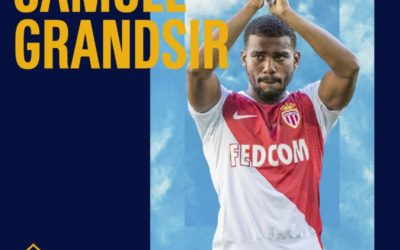 SAMUEL GRANDSIR REJOINT LES LOS ANGELES GALAXY